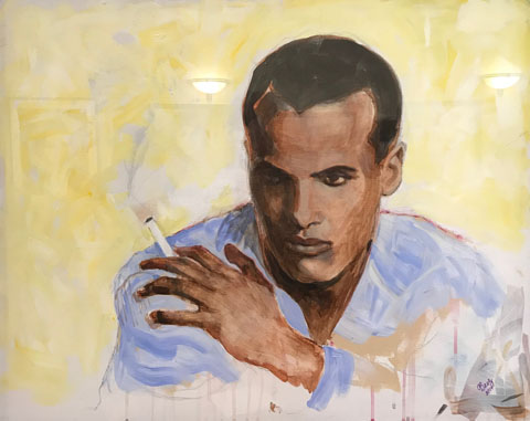 Harry Belafonte by Joan Baez