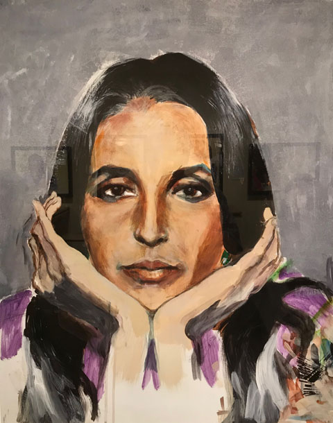 Joan Baez Self Portrait