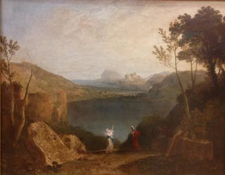 JMW Turner Aeneas and the Sibyl Lake Avernus