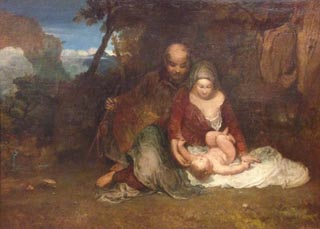 JMW Turner Holy Family