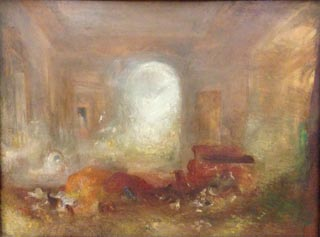 JMW Turner Interior of a Great House East Cowes Castle 1830