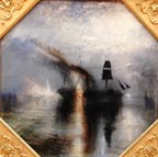JMW Turner Peace Burial at Sea