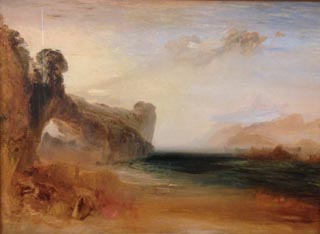 JMW Turner Rocky Bay with Figures