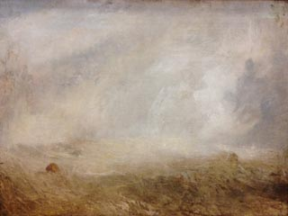JMW Turner Seascape with a Buoy