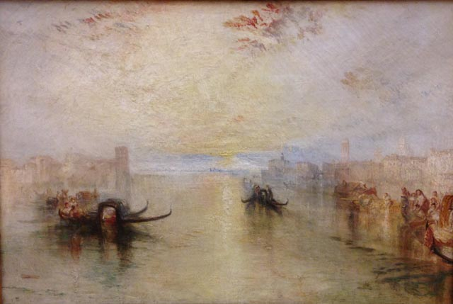 JMW Turner St Bernedetto Looking towards Fusia