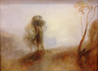 JMW Turner Sunrise a Castle on a BAy Solitude