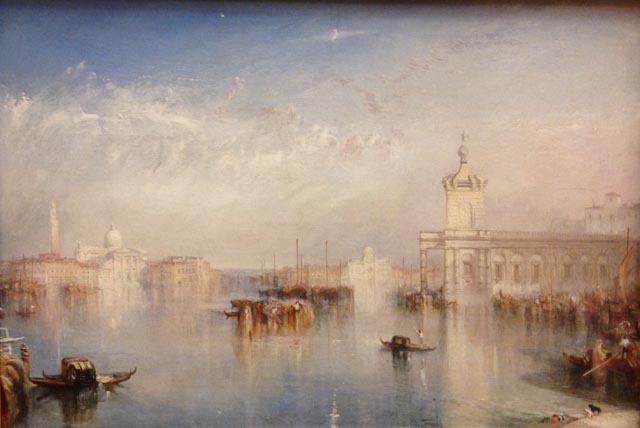 JMW Turner The Dagano San Giorgio Citella from the Steps of the Europa