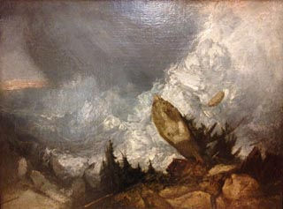 JMW Turner The Fall of an Avalanche in the Grisons