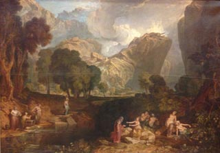 JMW Turner The Goddess of Discord Choosing the Apple