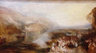 JMW Turner The Opening of Wallhalla