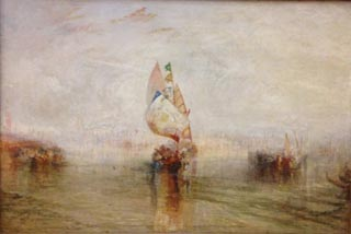 JMW Turner The Sun of Venice Going to Sea
