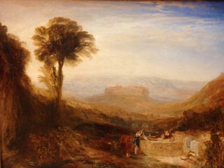 JMW Turner View of Orvieto Painted in Rome