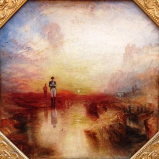 JMW Turner War The Exile and the Rock Limpet