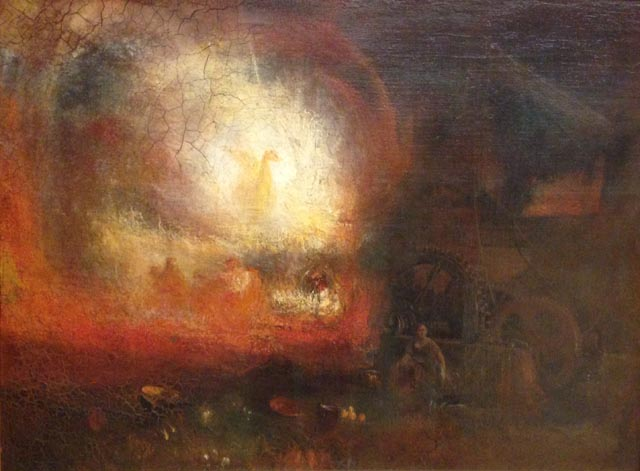 JMW Turner The Hero of a Hundred Fights
