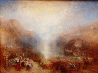 JMW Turner Mercury Sent to Admonish Aeneus
