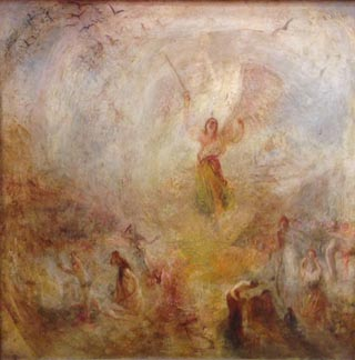 JMW Turner The Angel Standing in the Sun