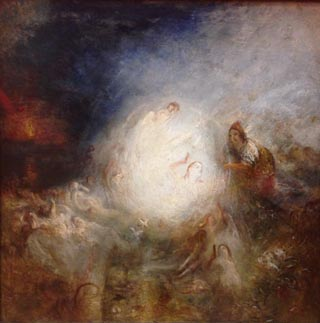JMW Turner Undine Giving the Ring to Massaniello Fisherman of Naples