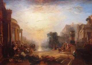 JMW Turner The Decline of the Carthaginian Empire