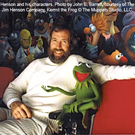 Jim Henson and Kermit