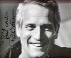 Paul Newman photo at Kans Restaurant