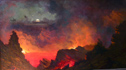 Jules Tavernier Kilauea by Moonlight c 1890 Thumbnail