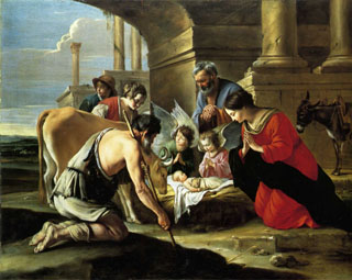 The Adoration of the Shepherds, 1640 National Gallery, London