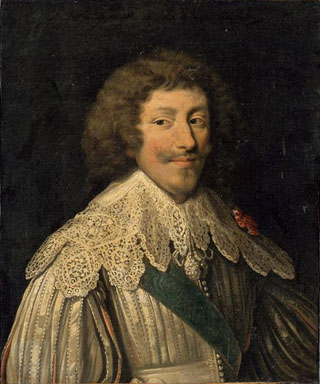 Portrait of Henri II, duc de Montmorency between 1610-1650, Louvre Museum, Paris