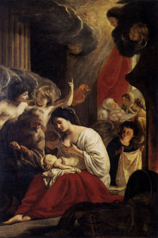 Birth of the Virgin, 1645 Notre Dame, Paris