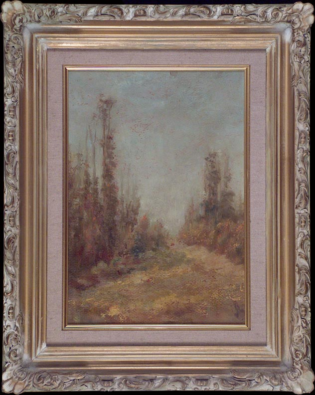 Frederick Stymetz Lamb Hillside Path with Frame