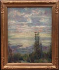 Frederick Stymetz Lamb Imressionist View of SF Bay from the Berkeley Hills thumbnail