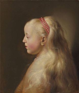 Young Girl in Profile Jan Lievens