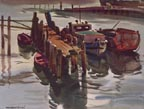 Maurice Logan Dockside Calm Print Thumbnail