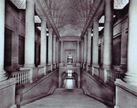 The Loggia of the Old San Francisco Library