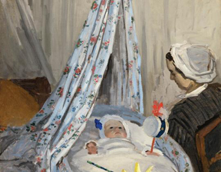 Claude Monet The Cradle 1867 age 27