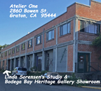 Bodega Bay Heritage Gallery Showroom