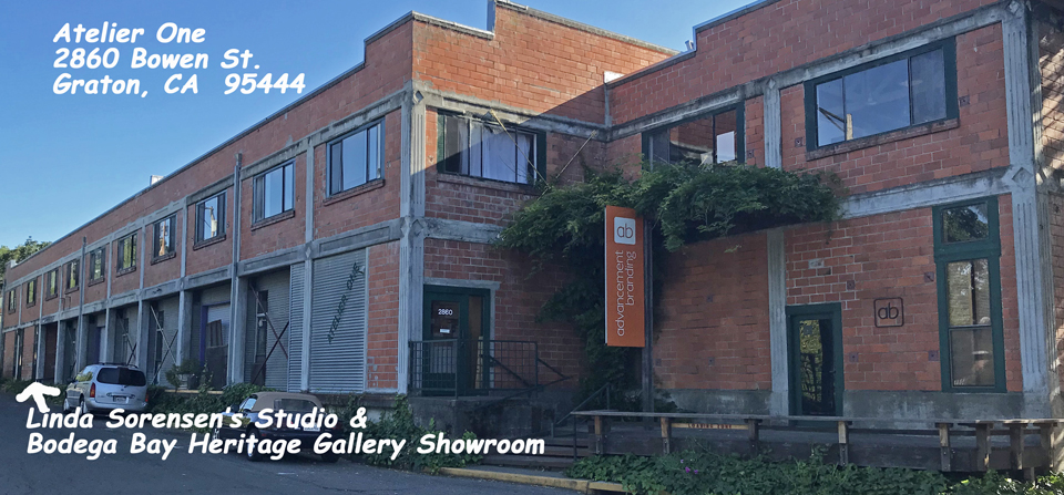 Our Gallery Showroom and Linda Sorensen's Studio in Graton