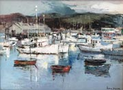 Joshua Meador Boats in Monterey Large Thumb