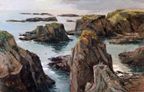 Joshua Meador Caspar Point Thumbnail