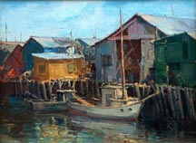 Joshua Meador Pier at Monterey Midsized Thumbnail