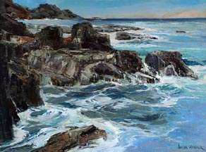 Joshua Meador Pacific Cove 20 x 27