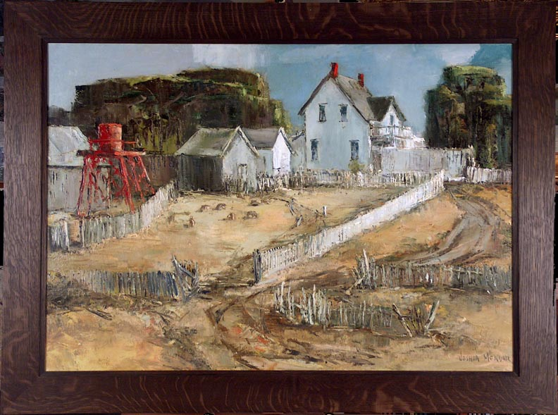 Joshua Meador Sheep Ranch Mendocino with Frame