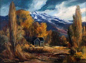 Joshua Meador Sierra Cabin Bishop 20 x 27