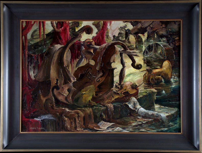 Joshua Meador The Last Symphony with frame