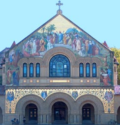 Stanford Memorial Church Exterior