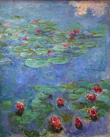 Claude Monet Water Lilies ca 1914-1917