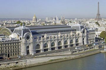 Musee d Orsay and Eifel Tower