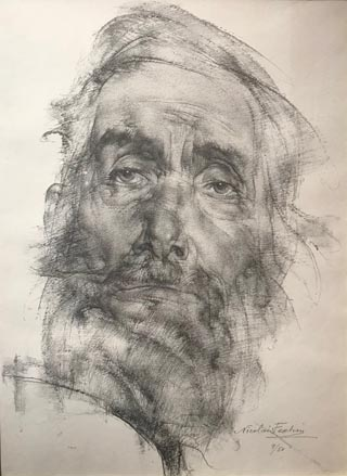 Bearded Man, Nicolai Fechin