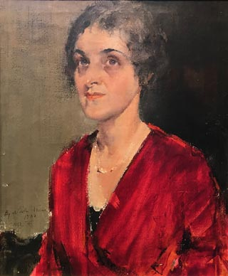 Portrait of Eleanor Kissel, Nicolai Fechin
