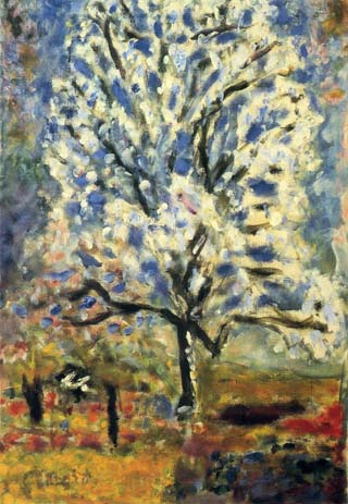 Pierre Bonnard Almond Tree in Blossom