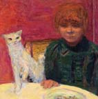 Pierre Bonnard The Demanding Cat